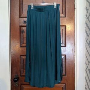 Teal Skirt by Loft